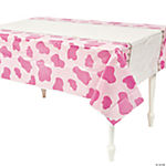1st Birthday Pink Cowgirl Table Cover