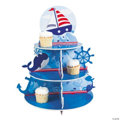 Birthday Sailor Cupcake Holder
