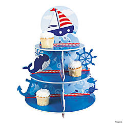 1st Birthday Sailor Cupcake Holder