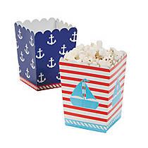 Birthday Sailor Mini Popcorn Boxes