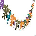 Autumn Leaves Tissue Garland