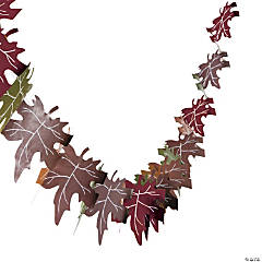 Fall Leaves Tissue Garland