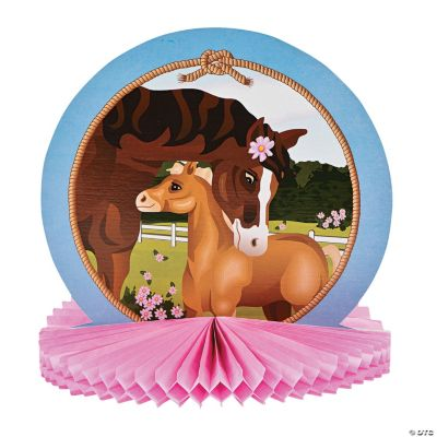 Mare & Foal Tissue Centerpiece