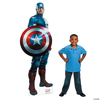 The Avengers™ Captain America Life-Size Stand-Up