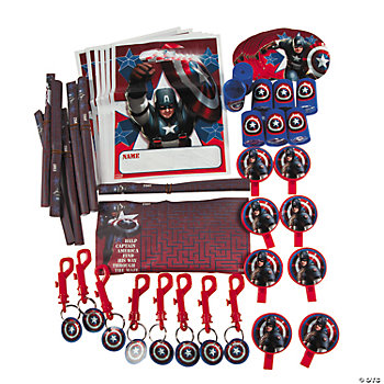 Captain America™ The First Avenger Filled Favor Pack