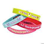 Minnie Mouse's Bow-Tique Rubber Bracelets
