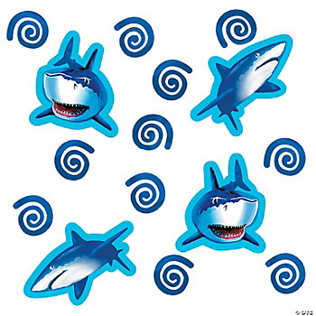 Shark Splash Confetti