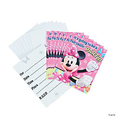 Minnie Mouse's Bow-Tique Invitations