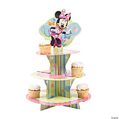 Minnie Mouse's Bow-Tique Tiered Cupcake Tray