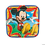 Mickey & Friends Square Dinner Plates