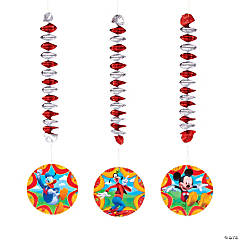 Mickey & Friends Dangling Spirals