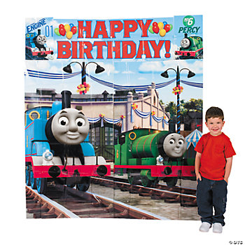 Thomas The Tank & Friends™ Scene Setter Wall Decorating Kit