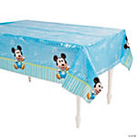 Mickey's 1st Birthday Tablecloth