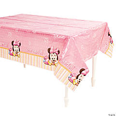 Minnie's 1st Birthday Tablecloth