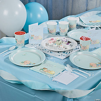 Baby Boy Precious Moments® Baby Shower Basic Party Pack