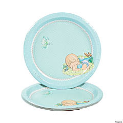 Baby Boy Precious Moments® Baby Shower Dinner Plates