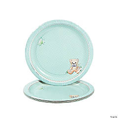 Baby Boy Precious Moments® Baby Shower Dessert Plates
