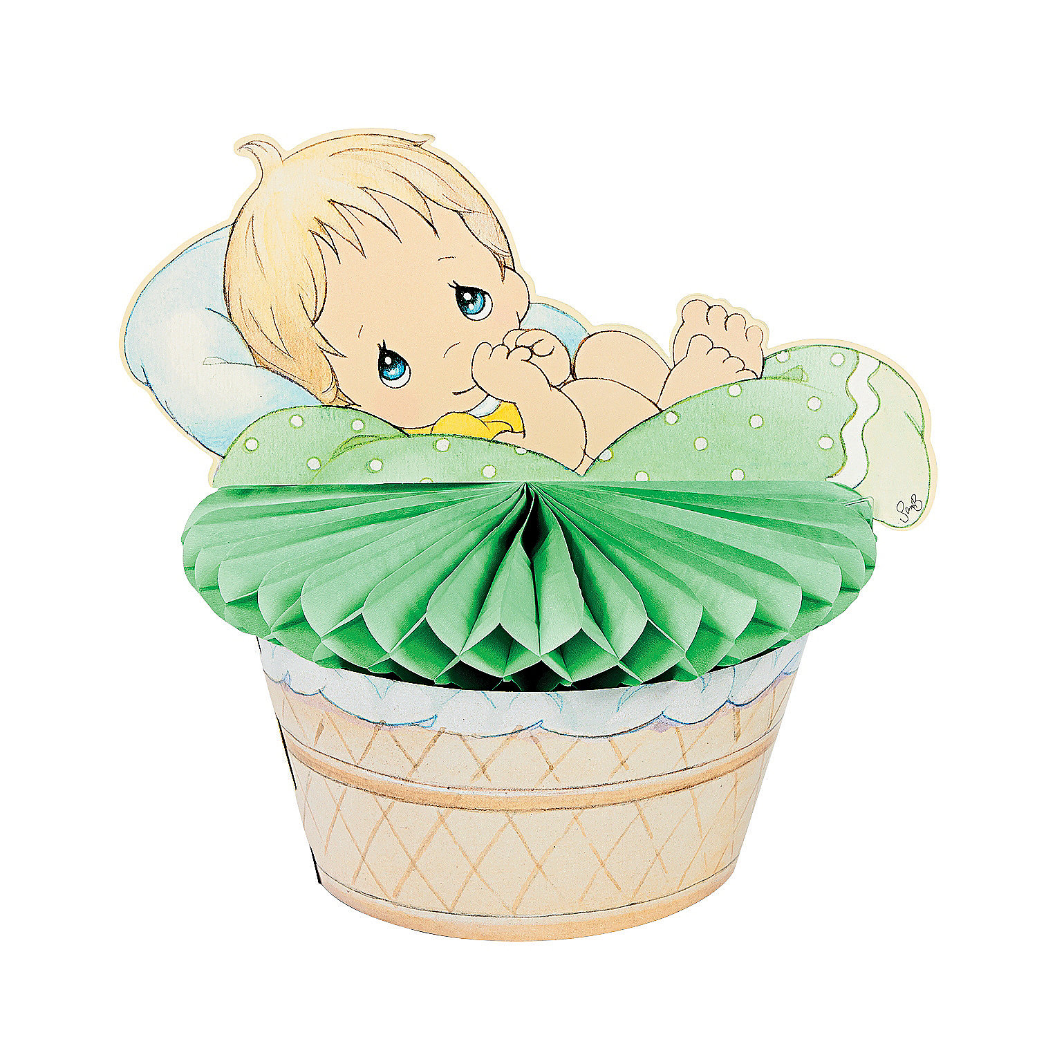 Precious Moments Baby Shower Party Supplies: Precious Moments® Baby Shower Centerpiece