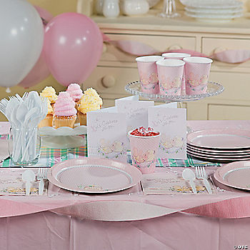 Baby Girl Precious Moments® Baby Shower Basic Party Pack