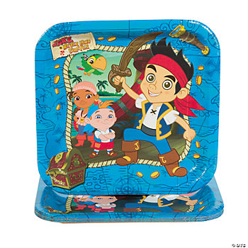 Jake & The Neverland Pirates™ Dinner Plates