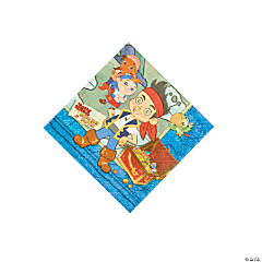 Jake & The Neverland Pirates Beverage Napkins