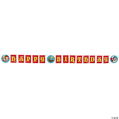 "Jake & the Never Land Pirates™ ""Happy Birthday"" Banner"