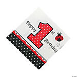 Ladybug Fancy Lunch Napkins