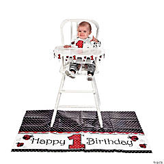 Ladybug Fancy High Chair Kit