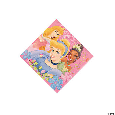 Disney's Fanciful Princess Beverage Napkins