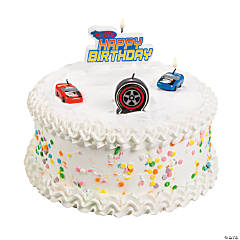 Hot Wheels™ Speed City Mini Birthday Candles