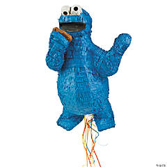 Cookie Monster Pull String Piñata