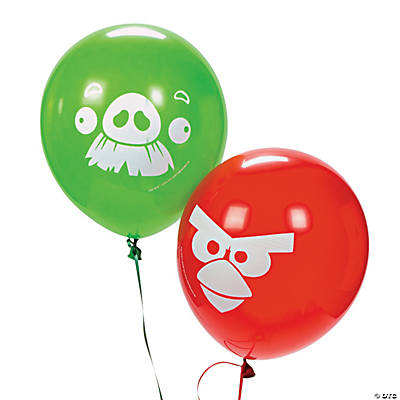 Angry Birds Latex Balloons