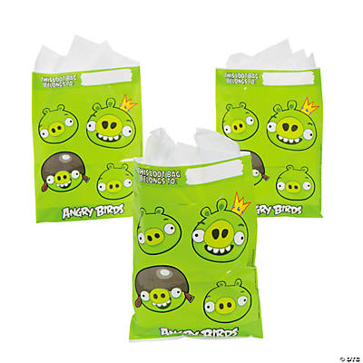 Angry Birds Treat Bags