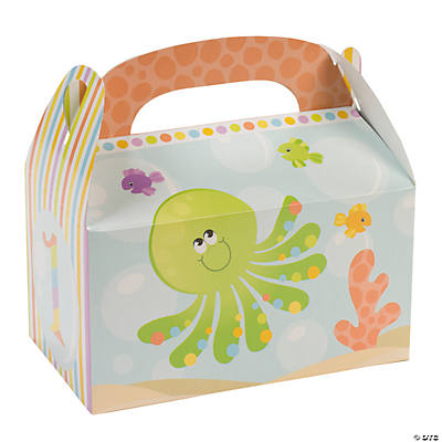 Under the Sea 1st Birthday Treat Boxes