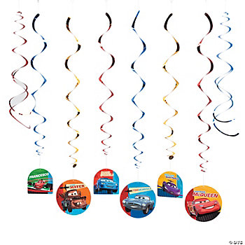 Disney's Cars 2® Dangling Swirls