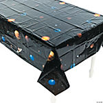 Plastic Outer Space Tablecloth