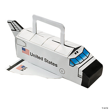 Space Shuttle Treat Boxes