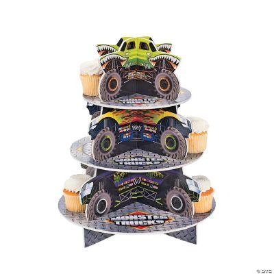 Monster Trucks Cupcake Holder