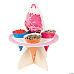 Ice Cream Topping Stand