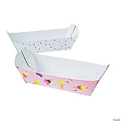 Ice Cream Sundae Boats