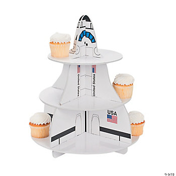 Space Shuttle Cupcake Holder