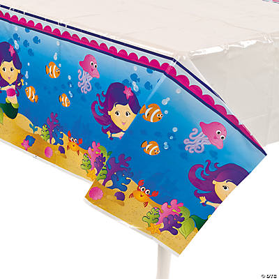 Mermaid Party Tablecloth