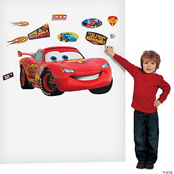 Disney's Cars 2® Removable Stickers