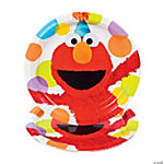 Elmo Party Dinner Plates