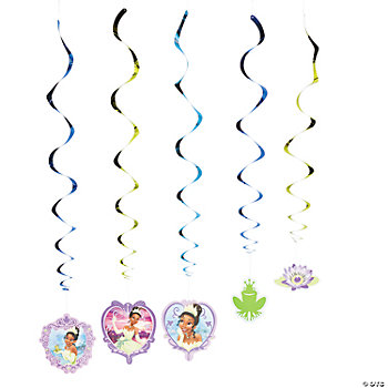 The Princess And The Frog Dangling Swirls