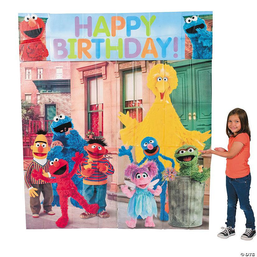 Sesame Street174 Backdrop Set