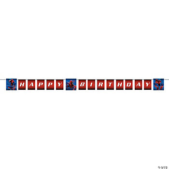 "The Amazing Spider-Man™ ""Happy Birthday"" Banner"