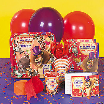 Madagascar 3 Basic Party Pack