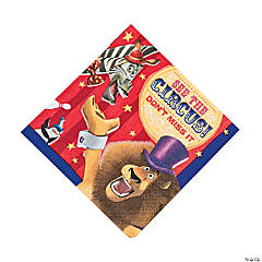 Madagascar 3 Lunch Napkins