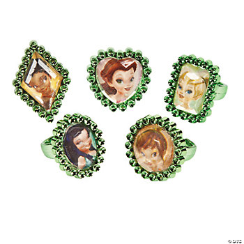 Tinkerbell/Fairies Jewel Rings
